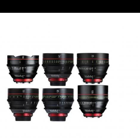 Canon CN-E Prime Kit