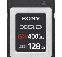 Sony 128GB XQD Card